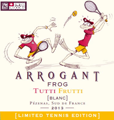 Arrogant Frog is playing at the Swiss Indoors ATP World Tour 500 Basel