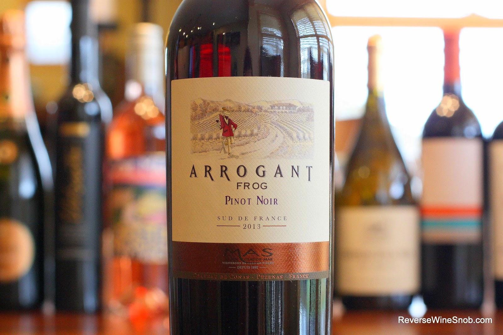 Arrogant Frog Pinot Noir 2013 – Lovely Languedoc on ReverseWineSnob