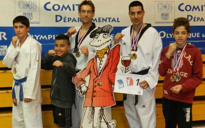 Fan du Club Main Ho Taekwondo de Pézenas et de ses champions